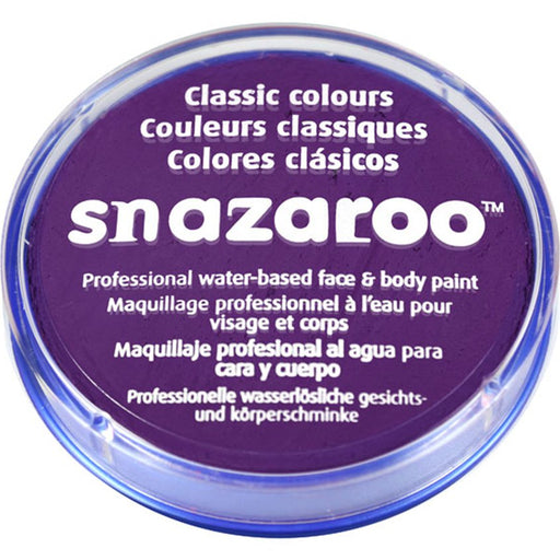 Snazaroo Purple/ Violet Face Paint - 18ml