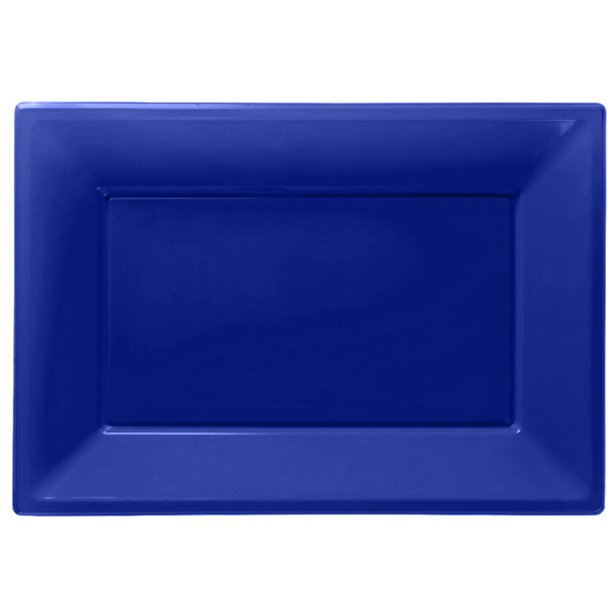 Serving Platters - Royal Blue - 3pk
