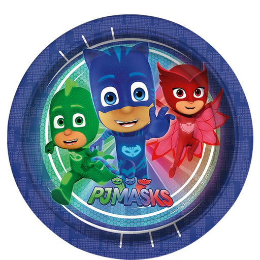 Lunch Plates - PJ Masks - 8pk