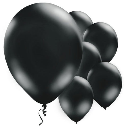 Latex Balloons Black Balloons - 11'' Latex