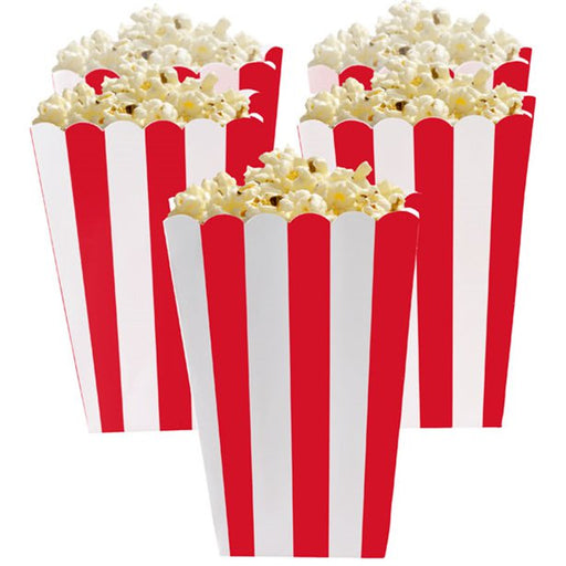 Candy Buffet Popcorn Boxes - Apple Red