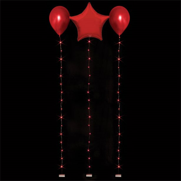 Accessories Red Balloon Lights - 1.8m