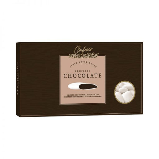 Dark Chocolate Dragees - White - 1kg