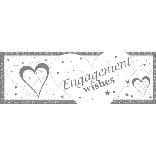 Loving Hearts Engagement Giant Banner