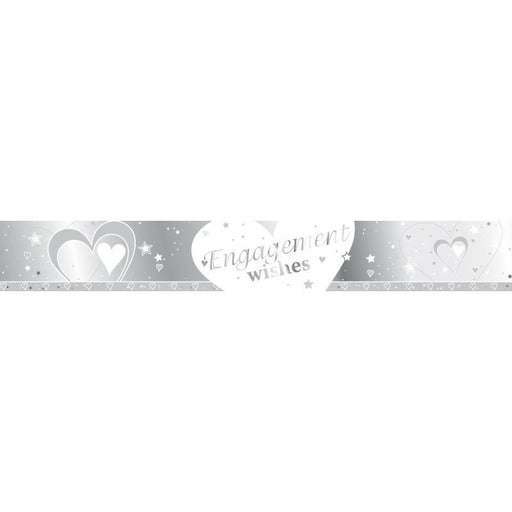 Loving Hearts Engagement Banner - 9ft