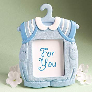 Cute Baby Themed Photo Frame Favors - Boy
