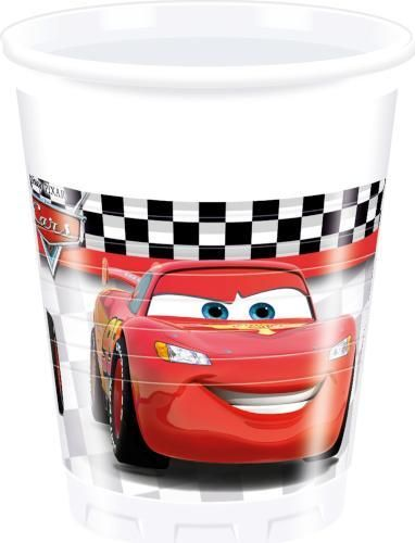 Cars Plastic Party Cups 200Ml
