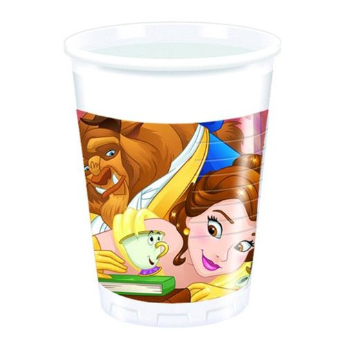 Beauty & The Beast Plastic Party Cups
