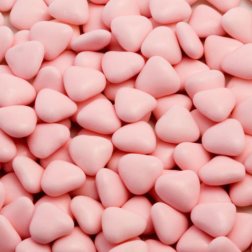 Chocolate Pink Chocolate Hearts  - 1kg