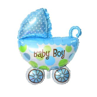 Balloon Foil Carriage Shape - Baby Boy 31""