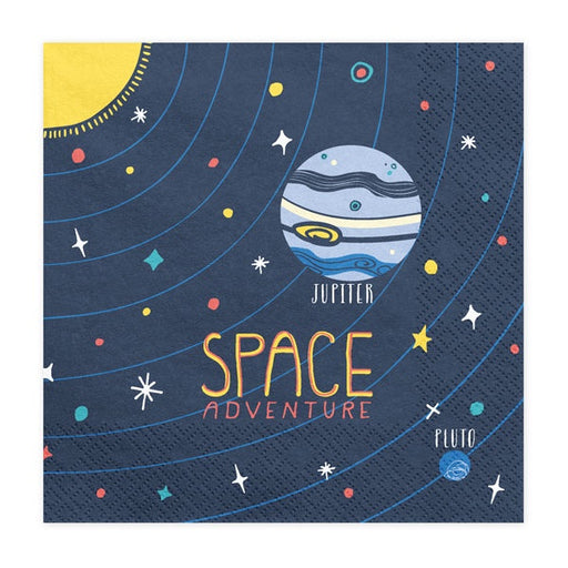 Lunch Napkins - Space Adventure - 20pk
