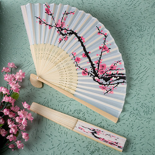 Fan Cherry Blossom Fabric