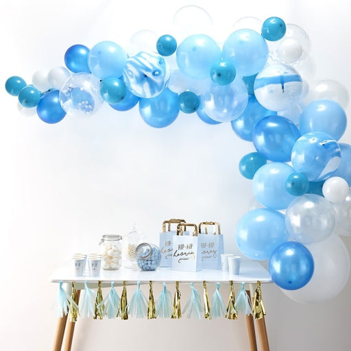 Balloon Arches - Blue Balloon Arch Kit 70pk