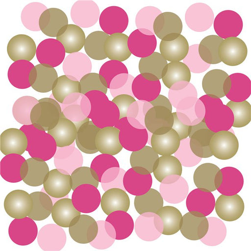 Pink & Gold Confetti - 14g Bag