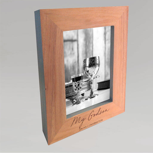 Godson Wooden Photo Frame With Grey Edges