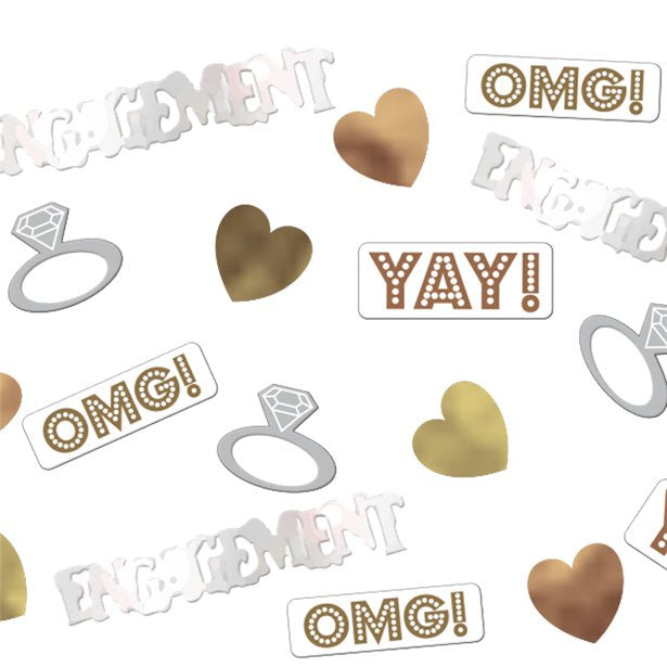 Table Confetti - OMG Engagement - 14g