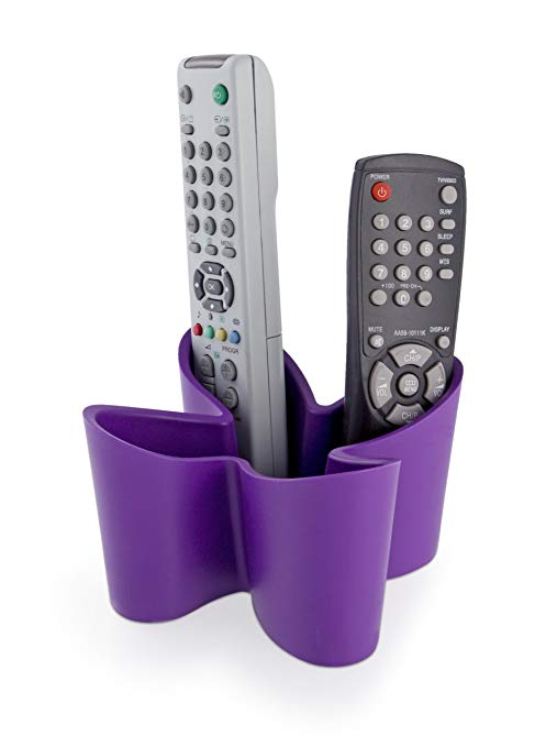 Remote Holder - Cozy Remote Control Tidy - Purple