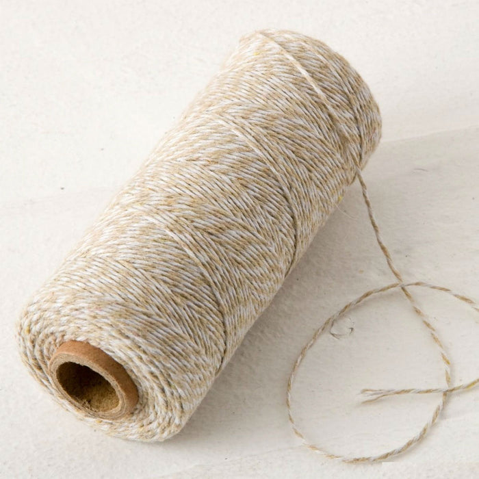 Baker's Twine - Ivory and White - 200mt