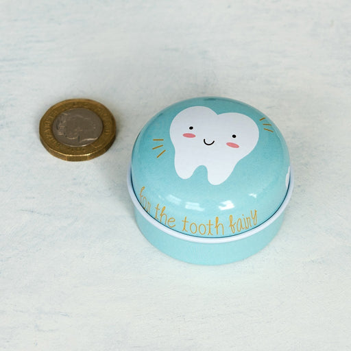 Blue Tooth Fairy Tin