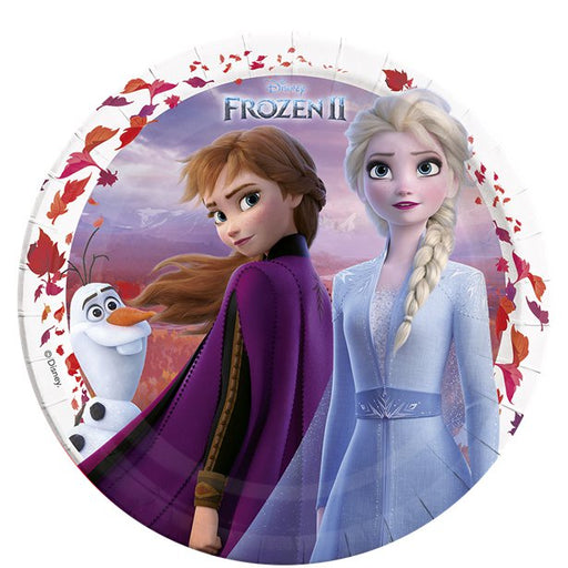 Lunch Plates - Frozen 2 - 8pk