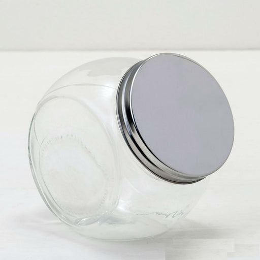 Large Glass Candy Jart with Lid