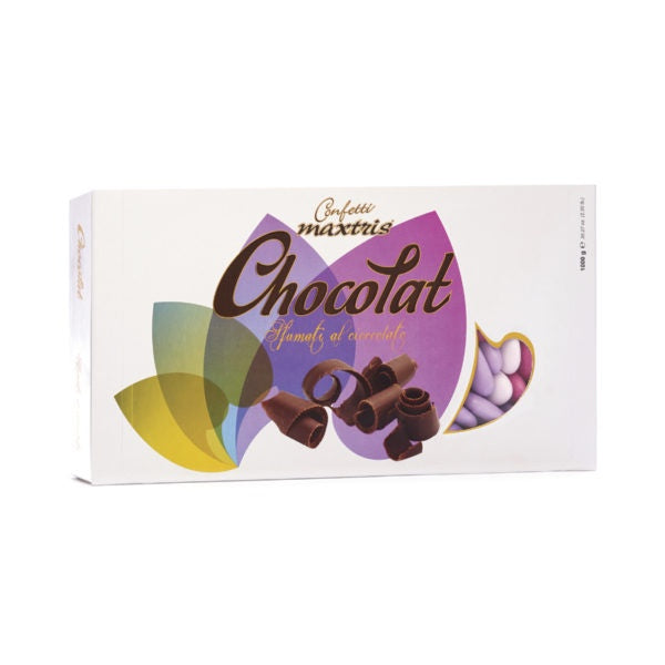 Dark Chocolate Dragees - Lilac Shades - 1kg