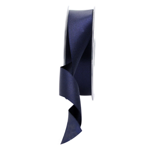 Satin Ribbon - 25mm - Navy Blue