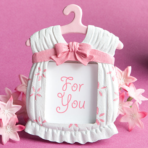 Cute Baby Themed Photo Frame Favor - Girl