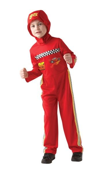 Cars 2 Lightning Mcqueen - Child Costume- Large