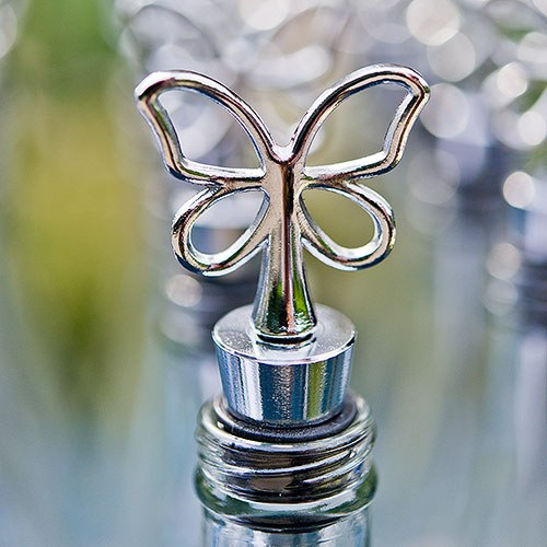 Butterfly Wine Bottle Stopper Wedding Favor