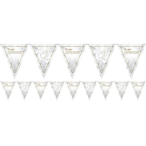 Bunting - Confirmation Dove - 4m