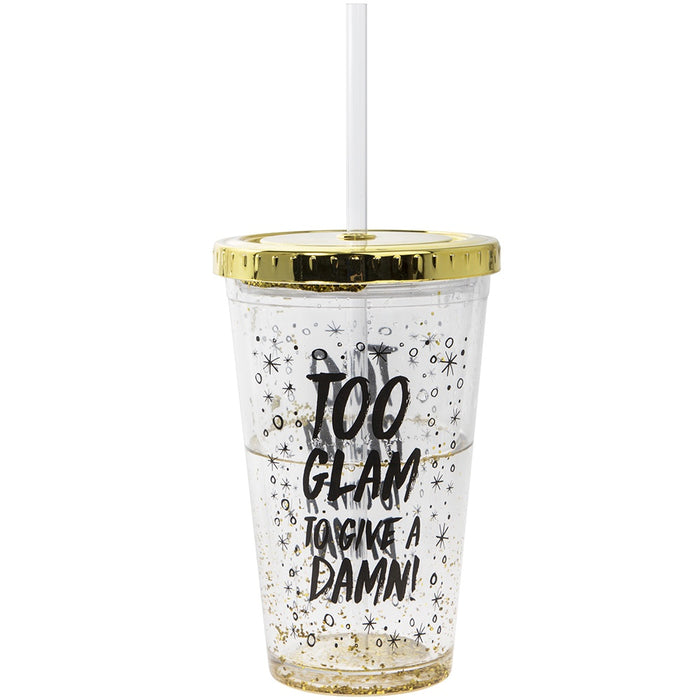 Cup with Straw - Glam Cup