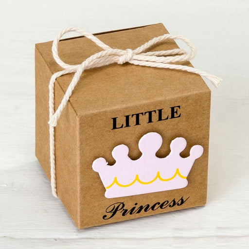 Kraft Box - Little Princess - 5x5x5cm