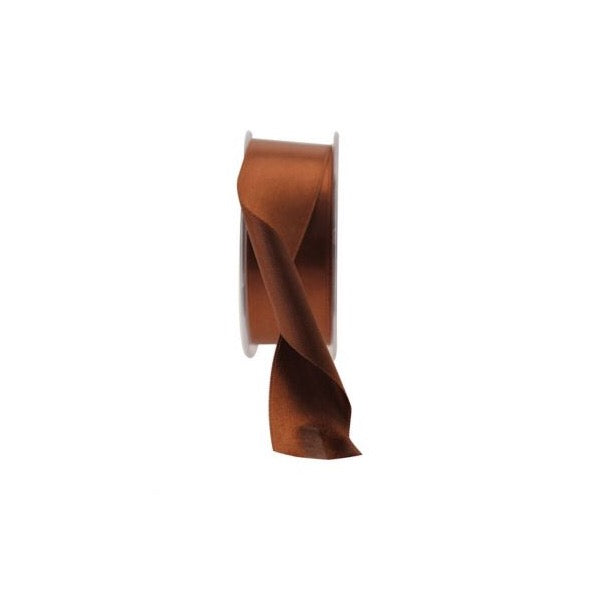 Satin Ribbon - 38mm - Brown
