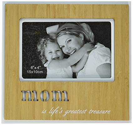 Disc Mom Bamboo Finished Frame With Laser