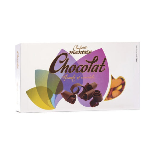 Dark Chocolate Dragees - Orange Shades - 1kg