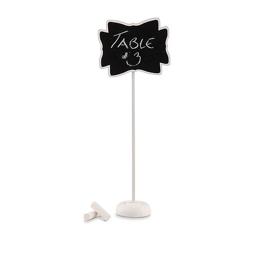 Decorative Chalkboard With Stand (Small White)