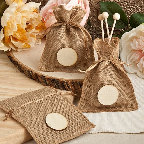 DC - Burlap Treat Bags