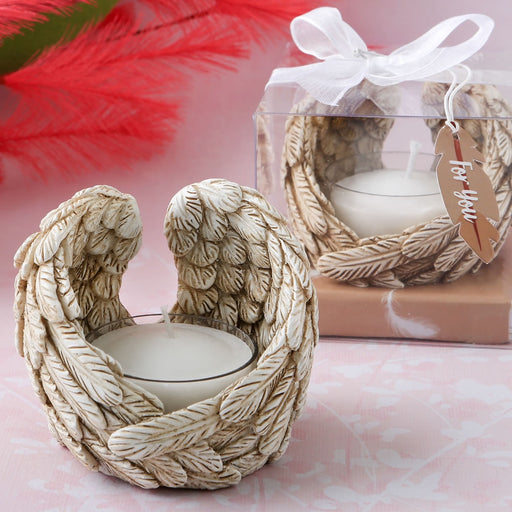 Guardian Angel Wings Tea light Holder
