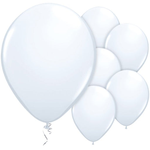 Balloon Latex Plain - White 11''