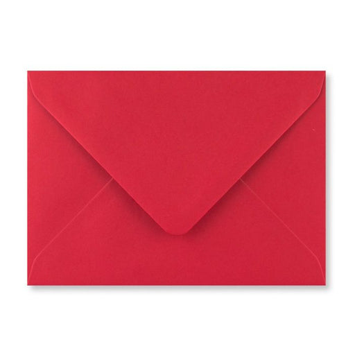 Envelope - Scarlet Red Matte - TR - 133x184mm