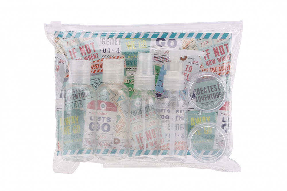 Adventure Await's - Travel Bottle Pack