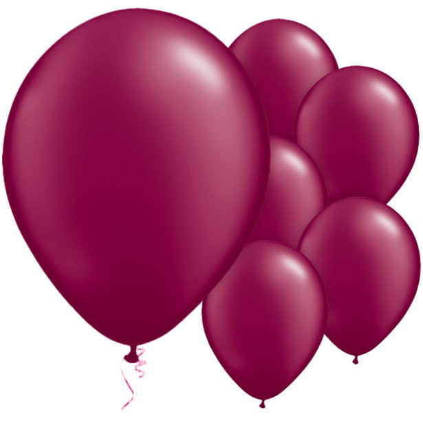 Balloon Latex Pearl - Burgundy 11''