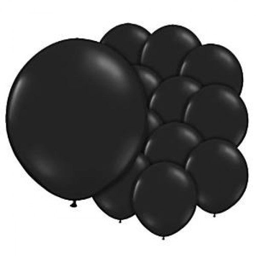Latex Balloons Ebony Balloons - 5'' Latex