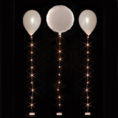 Accessories White Balloon Lights - 1.8m