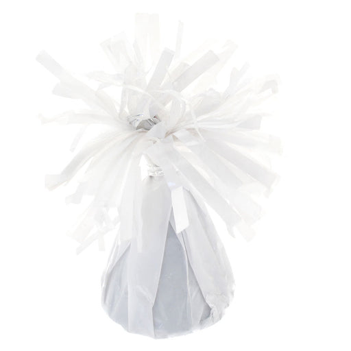 Balloon Weight - White Foil