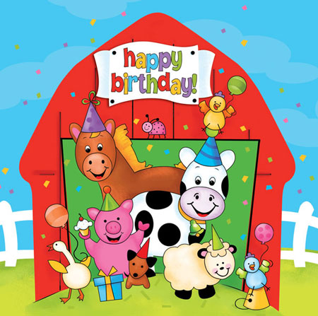 Barnyard Bash Lunch Napkins