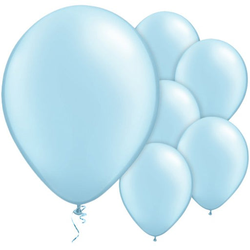 Balloon Latex Pearl - Light Blue 11''