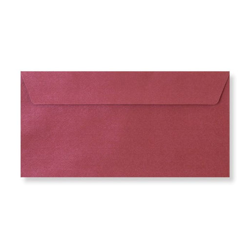 Envelope - Claret Textured Brocade - DL 110x220mm