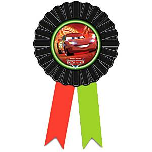 Cars Neon Award Ribbon